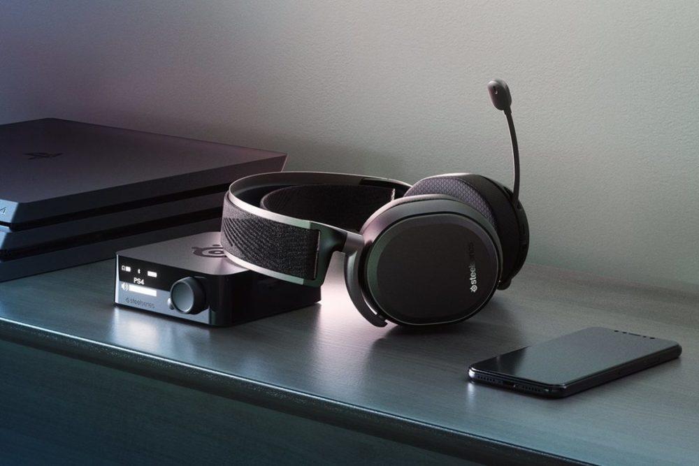 Arctis Pro Wireless svarta PS4