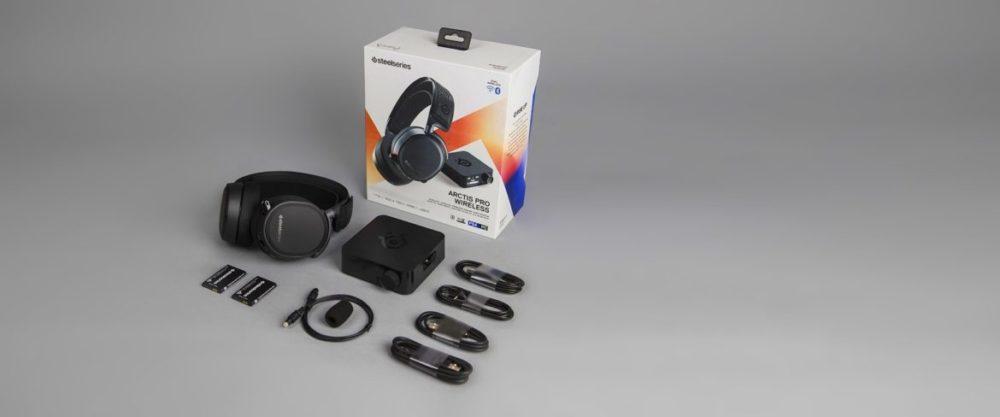 arctis pro wireless vad finns i paketet