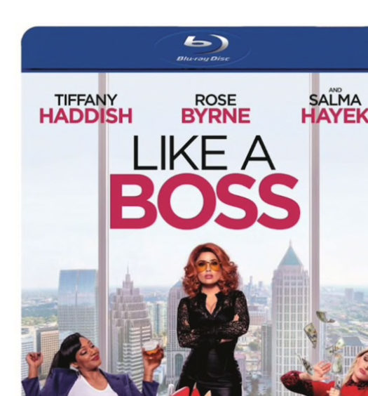 Like a Boss - Bluray omslag