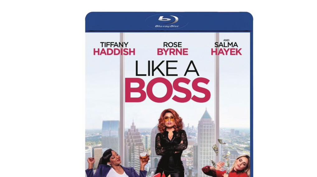 Like a Boss - Bluray omslag