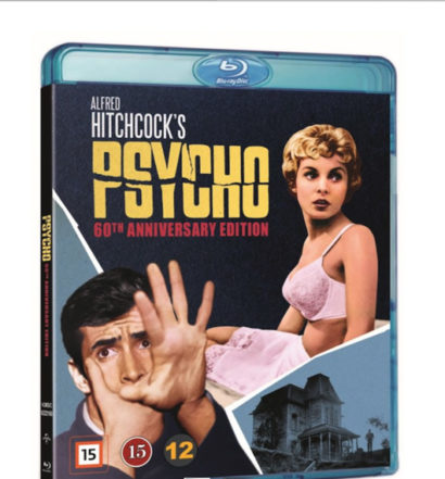 Psycho - Bluray omslag