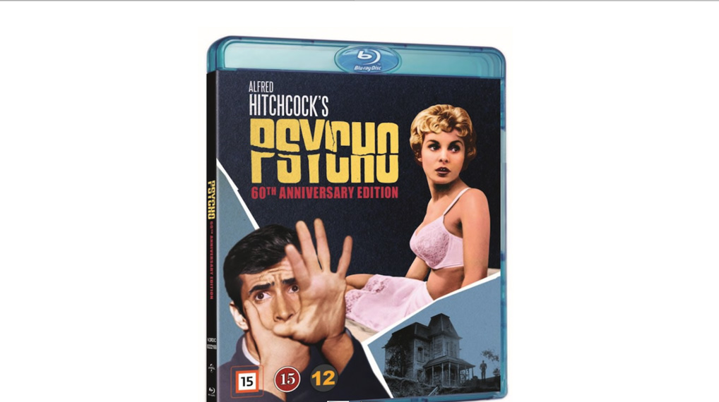 Psycho - Bluray omslag