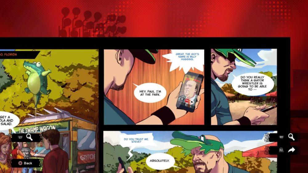 WWE 2K Battlegrounds serietidning
