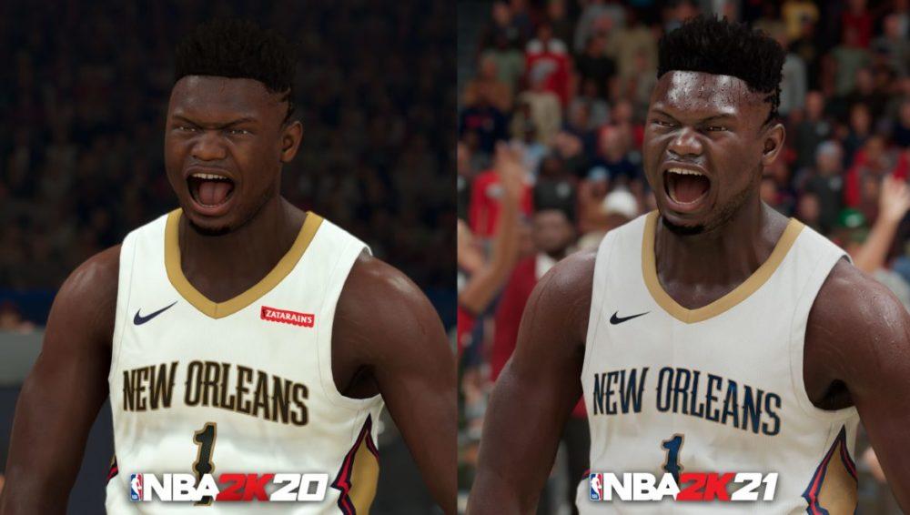 NBA2K21 PS5 vs NBA2K20 PS4