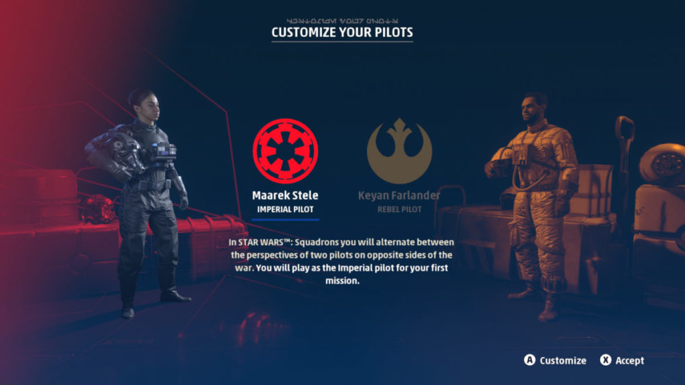 Star Wars: Squadrons - Motive Studios -  Electronic Arts - copyright 2020 - Screenshot Xbox one X - 4K
