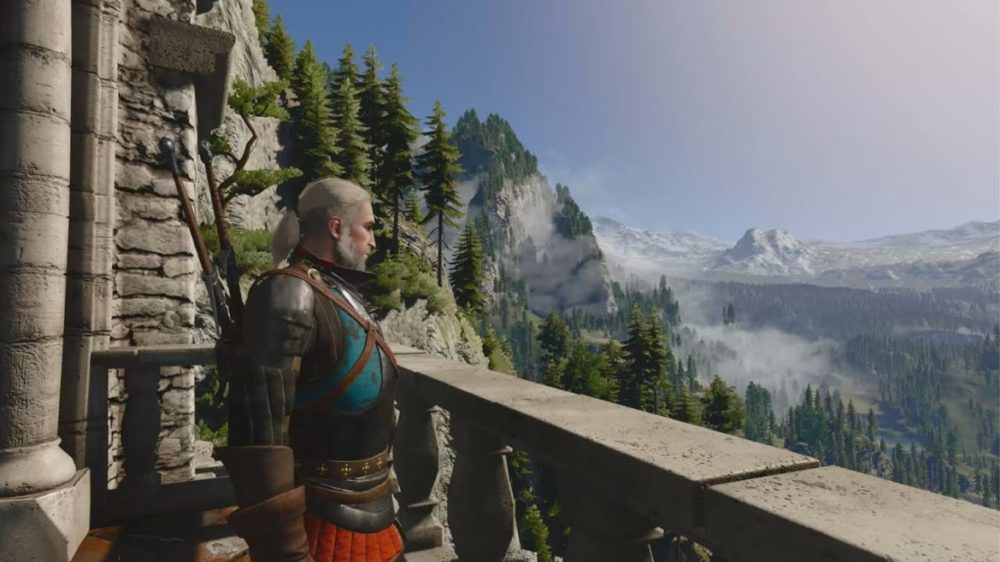 witcher 3 4k 60 fps xbox series x
