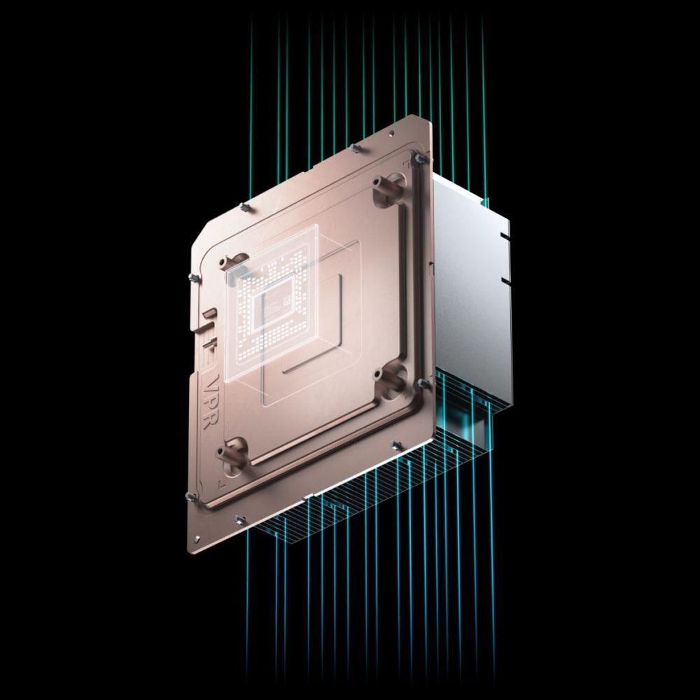 Xbox Series X vapor chamber värme
