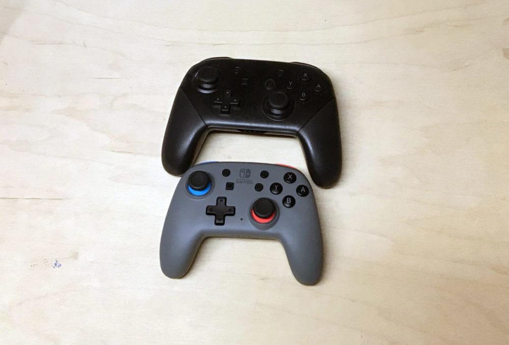 Nintendo Controller Pro och PowerA Nano. Foto: senses.se