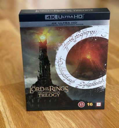 Sagan om Ringen Lord of the Rings UHD 4K recension senses
