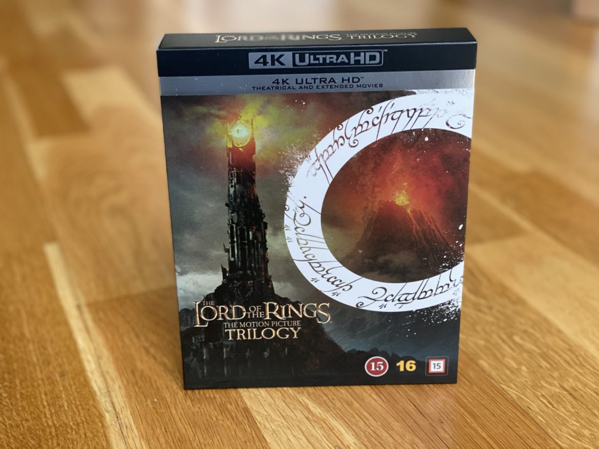 Sagan om Ringen Lord of the Rings UHD 4K recension senses