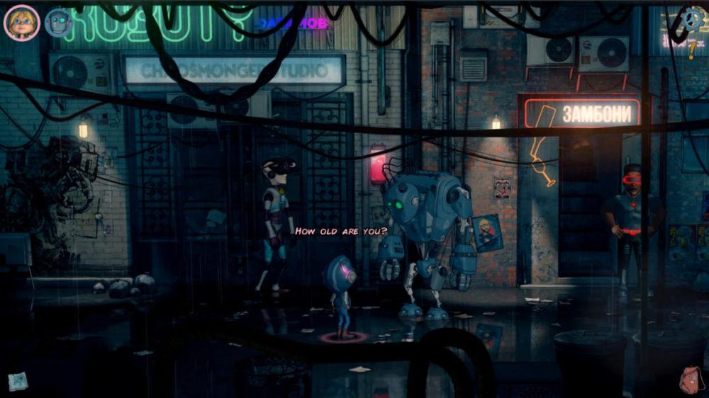 Encodya - Assemble Entertainment - Chaosmonger Studio copyright 2021 - pressbild - Tina and Sam-53 on the street