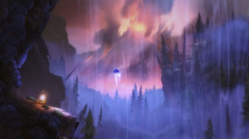 Ori and the Blind Forest: Definitive Edition - Moon Studios GmbH - Screenshot - Nintendo Switch - Ori floating