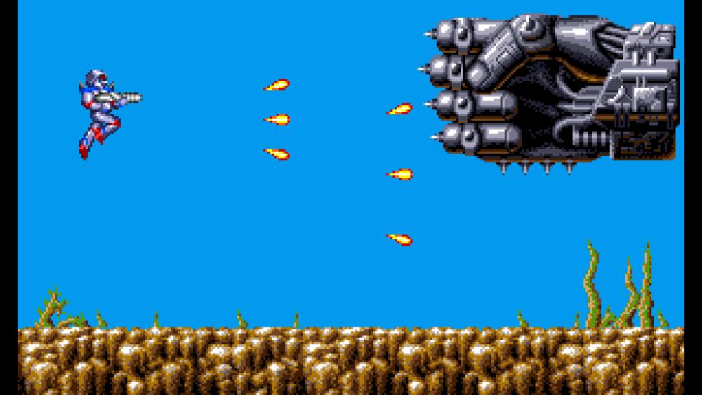 Turrican Flashback - Turrican Amiga 500