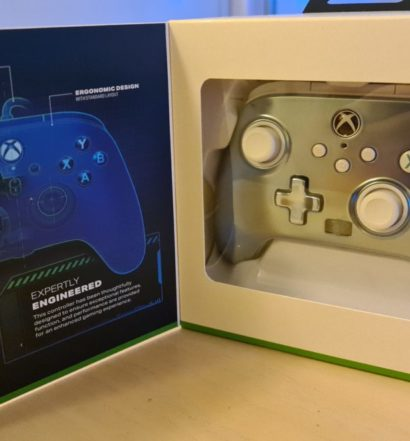 PowerA Enhanced Wired Controller test senses