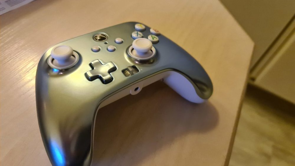 PowerA Enhanched Wired Controller metallic ice Xbox senses
