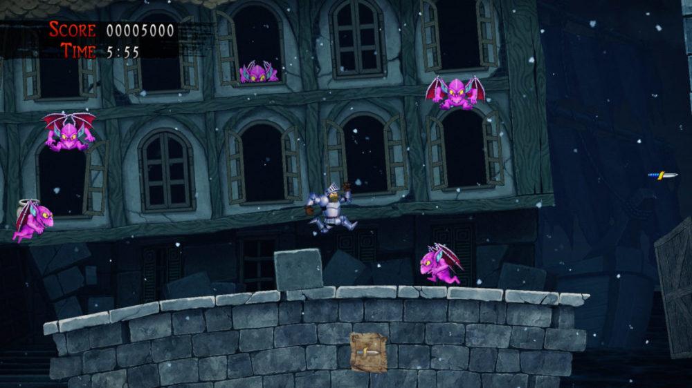 Press image: Capcom - Ghosts Gon Goblins - Resurrection - copyright 2021 - Purple devils.