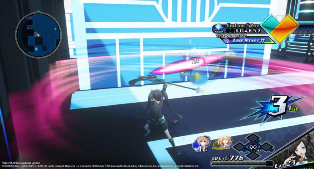 Neptunia Virtual Stars - Idea Factory International / Reef Entertainment - copyright 2021 - pressbild - Girl fighting.