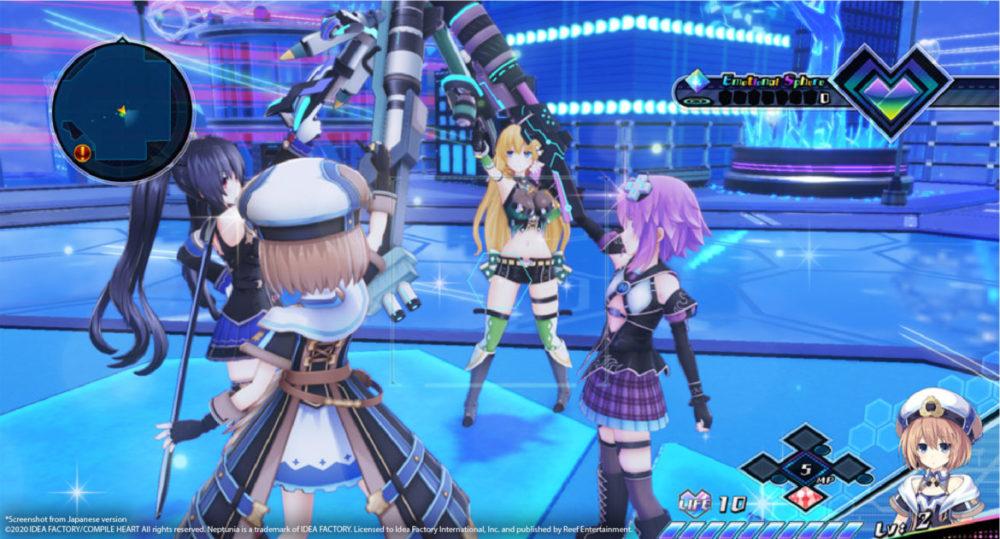 Neptunia Virtual Stars - Idea Factory International / Reef Entertainment - copyright 2021 - pressbild - The heroines