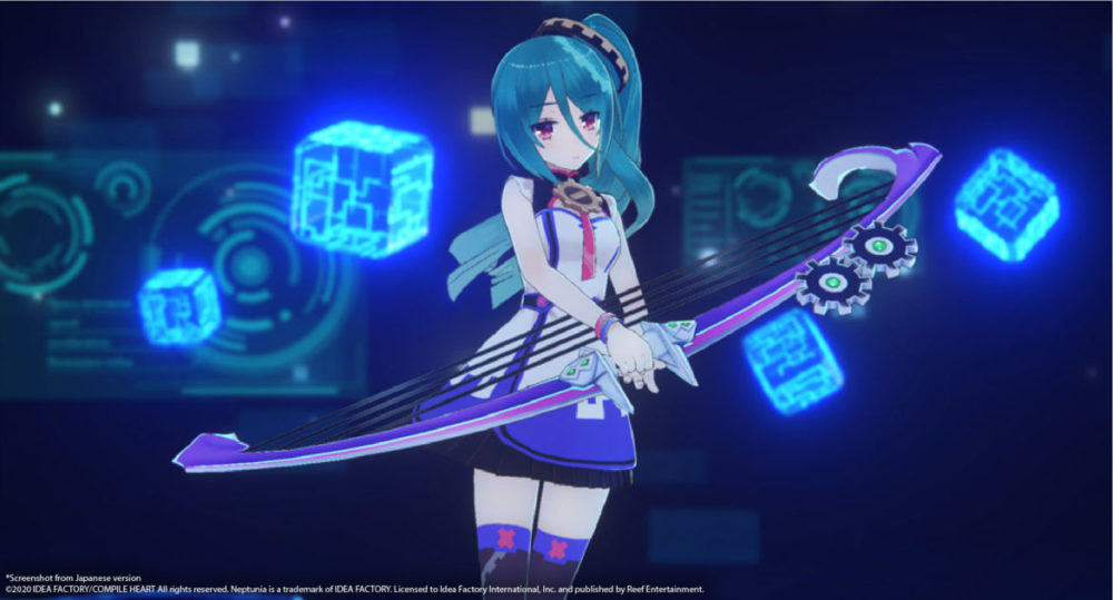 Neptunia Virtual Stars - Idea Factory International / Reef Entertainment - copyright 2021 - pressbild - Girl with bow.