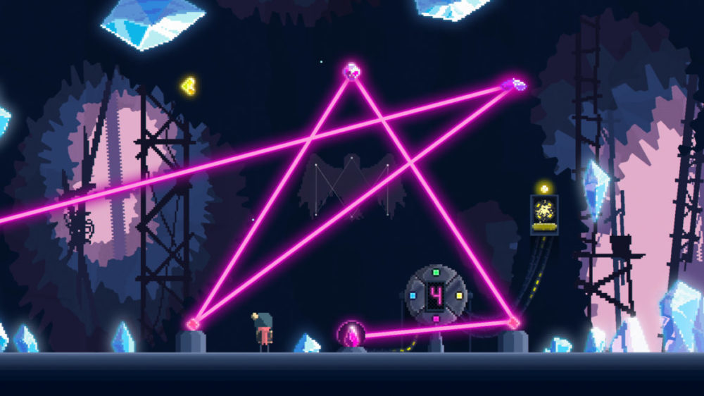 Pressbild: Noodlecake Studios - Summer Catchers - Copyright 2021 - Laser puzzle.