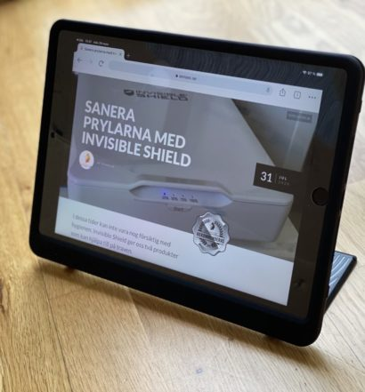 battersea for iPad test senses