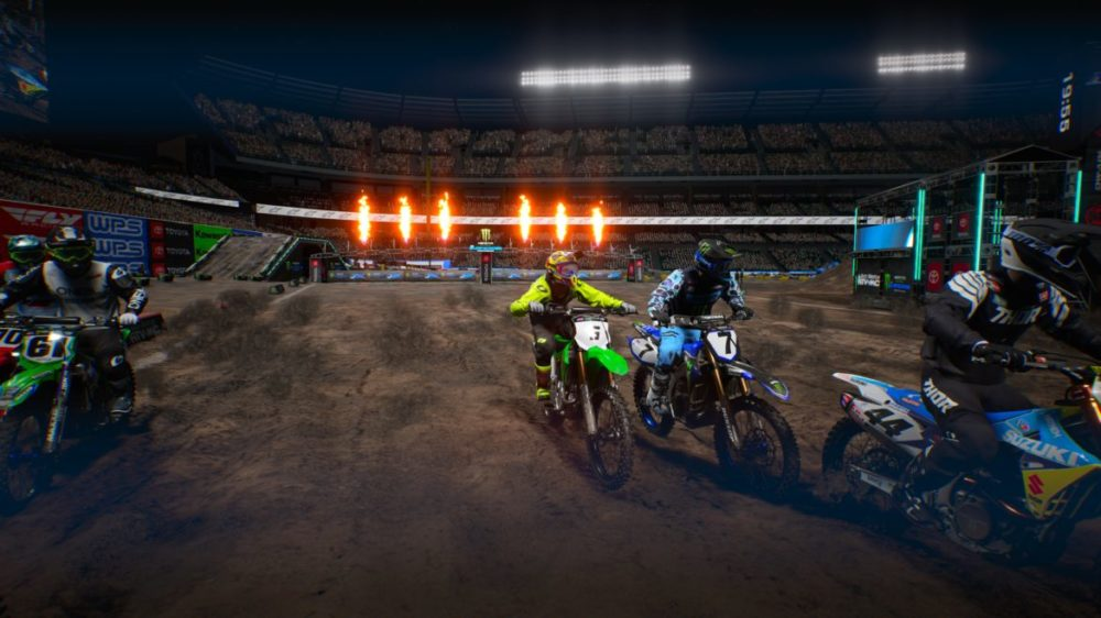 Monster Energy Supercross: The Official Videogame 4 xbox one x