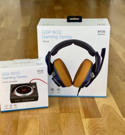 EPOS Sennheiser GSP 602 och GSX 1000 recension test senses