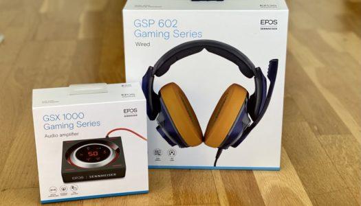 Test: EPOS Sennheiser GSP 602 + GSX 1000 (DAC)