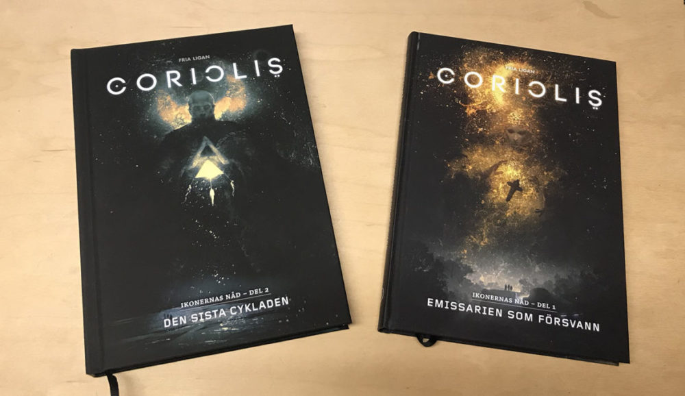 Coriolis - Mörkret mellan stjärnorna - Fria Ligan - Copyright 2021 -  bägge kampanjerna.