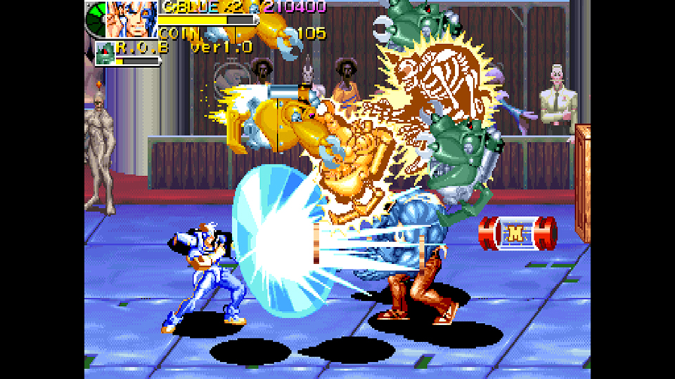 Capcom Arcade Stadium Battle Circuit