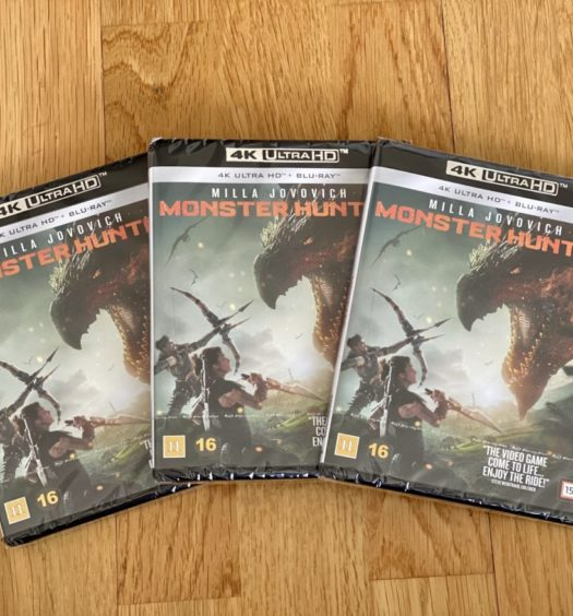 Monster Hunter UHD 4K tävling senses