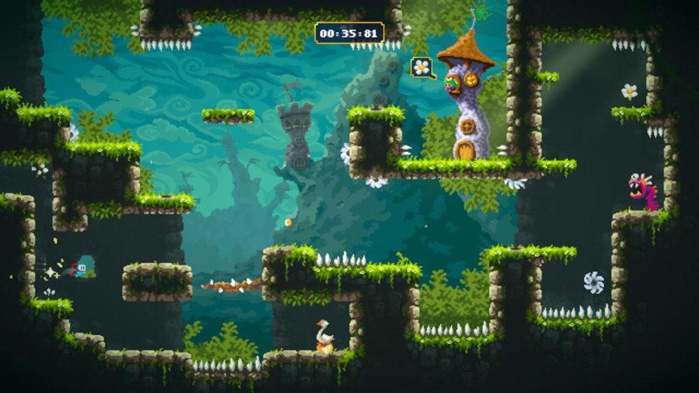 Pressbild: Pixel Games / Nintendo - Sir Lovelot - Plattform deluxe.