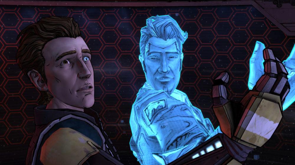 Tales From The Borderlands - Telltale Games - 2K - Gearbox Software - Pressbild Copyright 2021 - Hologram.