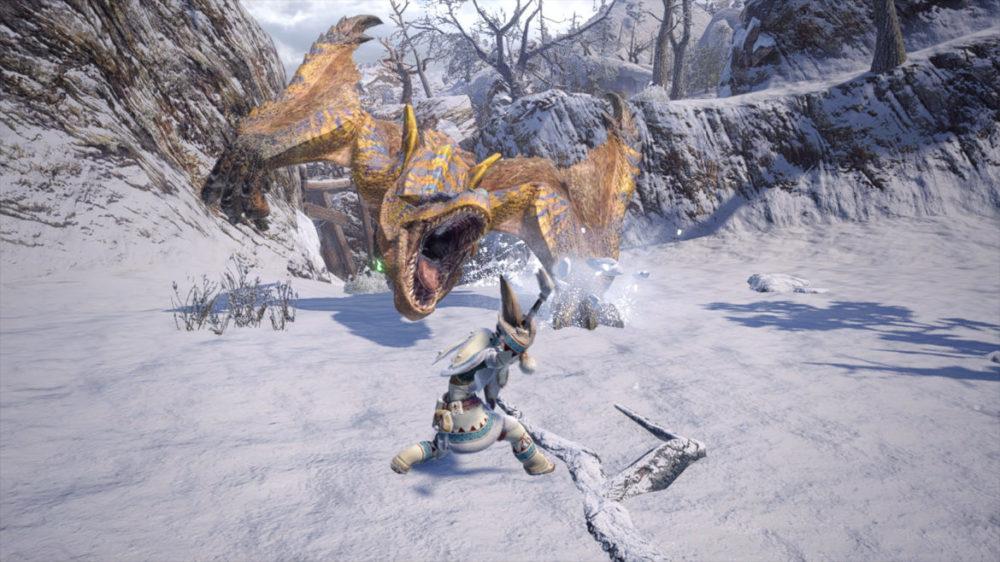 Monster Hunter Rise - press image: Capcom - copyright 2021 - Dragon Attack.