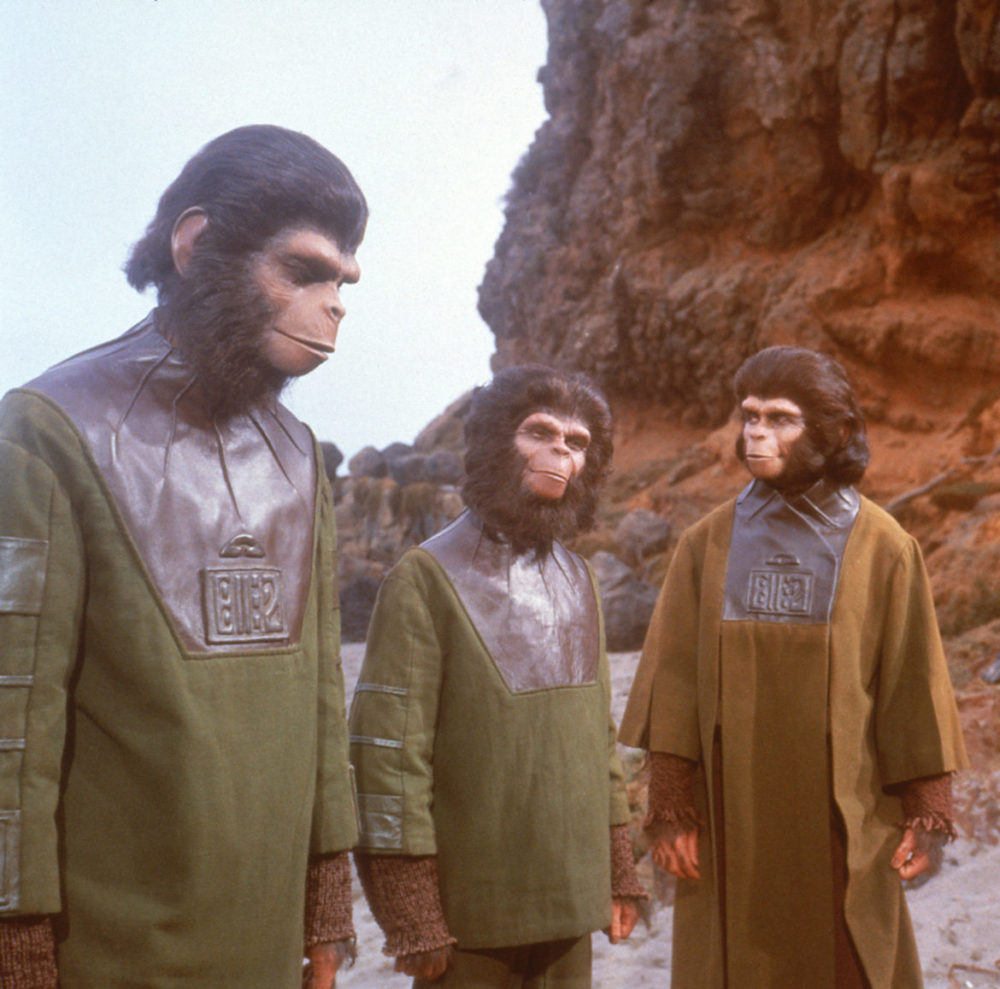 Planet of the apes Apornas Planet 1968