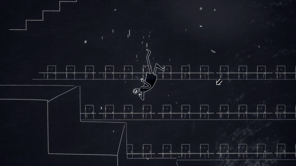 Press image: Feral Cat Den - Genesis Noir - Copyright 2021 - No Man falling.