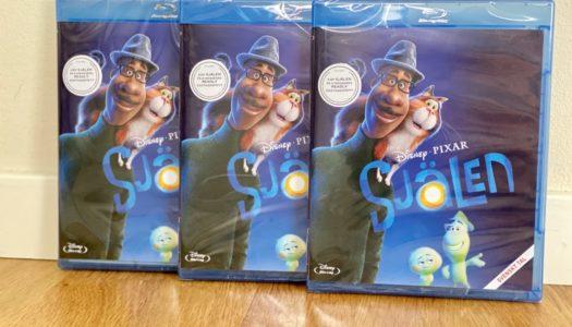 Vinn Pixars Själen på Blu-ray!