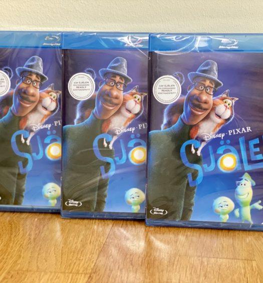 Pixars Själen Soul tävling senses