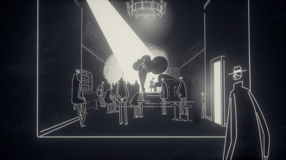 Press image: Feral Cat Den - Genesis Noir - Copyright 2021 - No Man ball room.