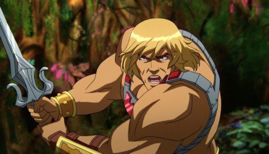 Första bilderna ur Netflix He-Man