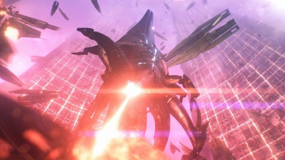 Photo: © 2021 Electronic Arts Inc. - Mass Effect - Legendary Edition - Laserblast.
