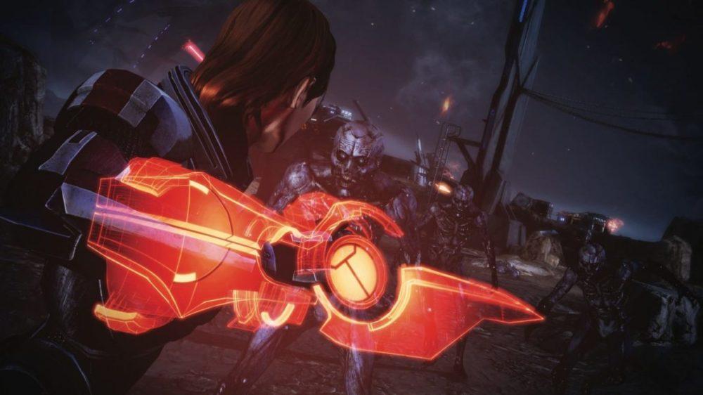 Photo: © 2021 Electronic Arts Inc. - Mass Effect - Legendary Edition - Attack!