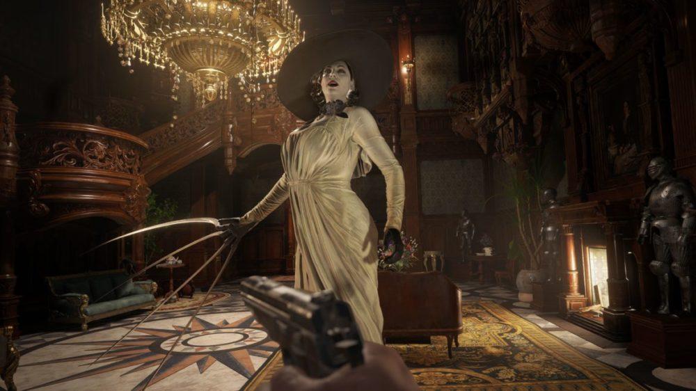 Resident Evil Village recension Lady Dimitrescu