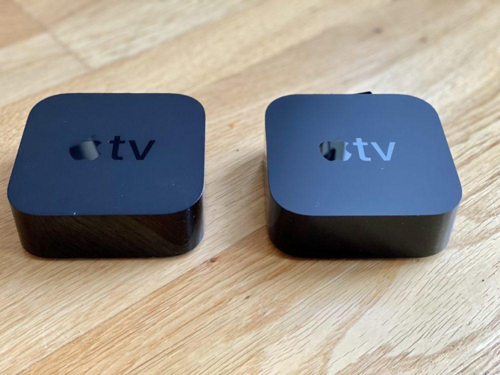 Apple TV 4K generation 4 vs generation 5 fotojämförelse