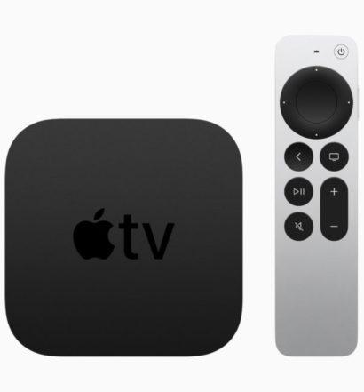 Apple TV 4K 2021 generation 5 test senses