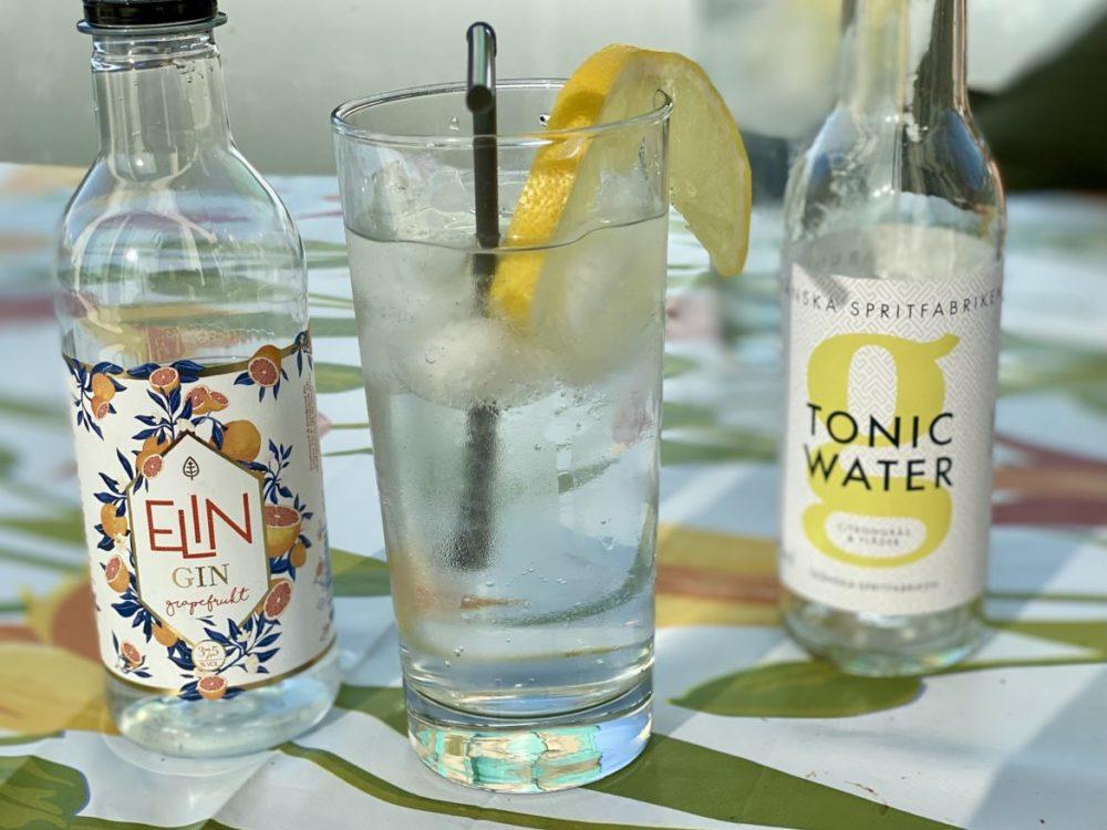 elin gin grapefrukt gin & tonic skånska spritfabriken tonic water