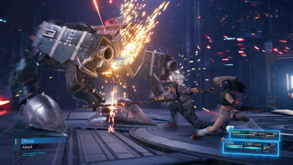 Final Fantasy VII Remake INTERgrade INTERmission PS5