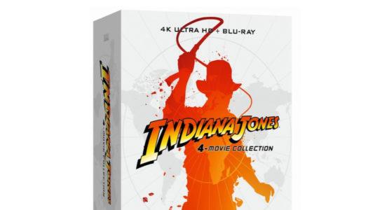 Recension: Indiana Jones 4-Movie Collection (UHD)
