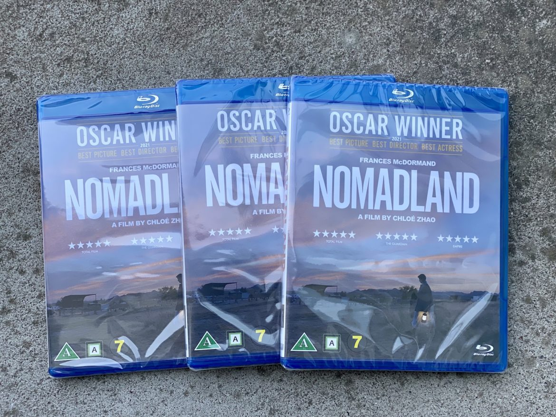 Nomadland tävling senses