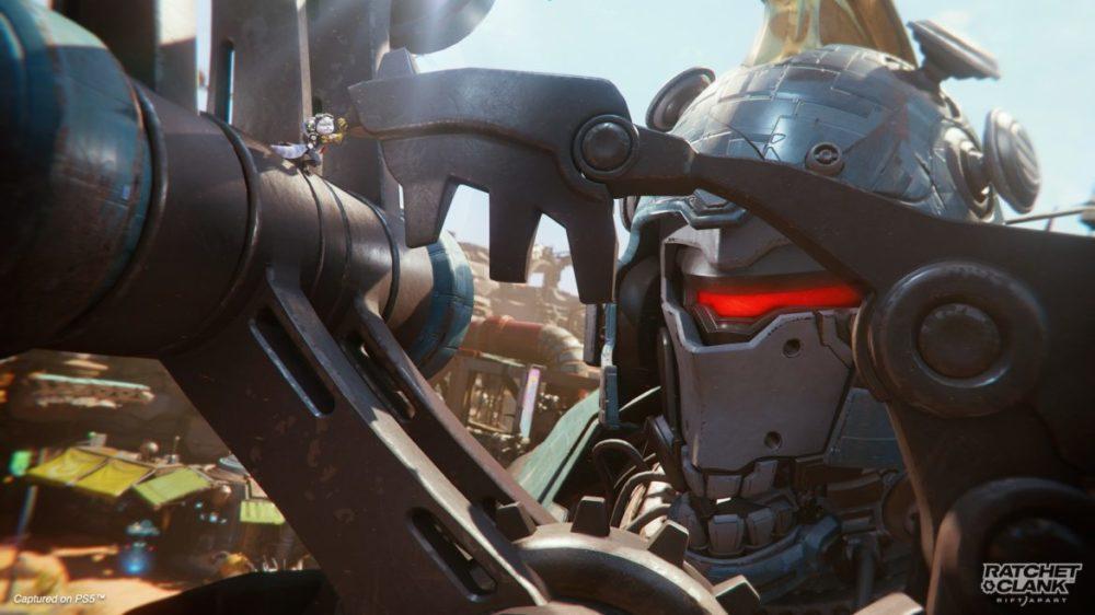 Ratchet & Clank: Rift Apart PS5 Rivet boss fight
